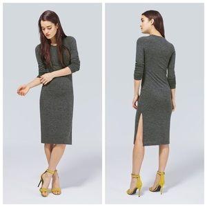 Aritzia Wilfred Free Blue Parleur Dress Size M